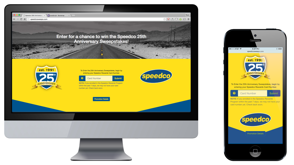 Speedco Website