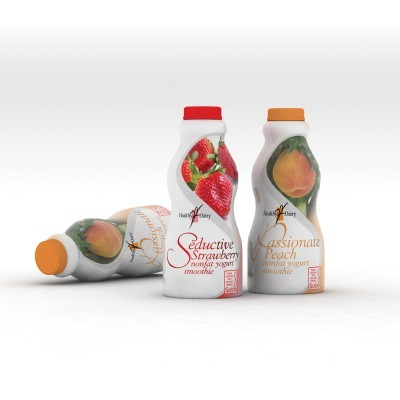 Healthy Dairy Smoothie Packaging