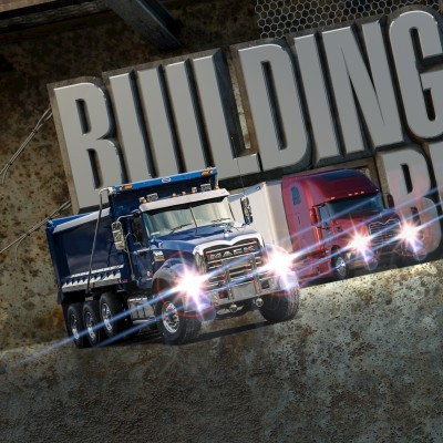 Mack Trucks Bulldog Club Photo Illustration