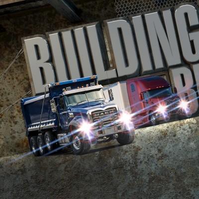 Mack Trucks Bulldog Club Photo Illustration