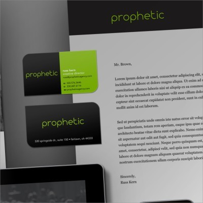 Prophetic Logo & Brand Design