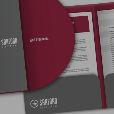 Sanford Electrical Brand Identity