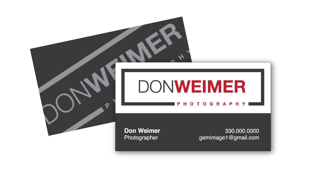 Don Weimer Business Card