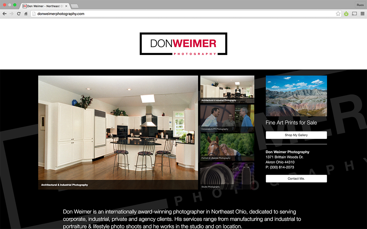 Don Weimer Website 2