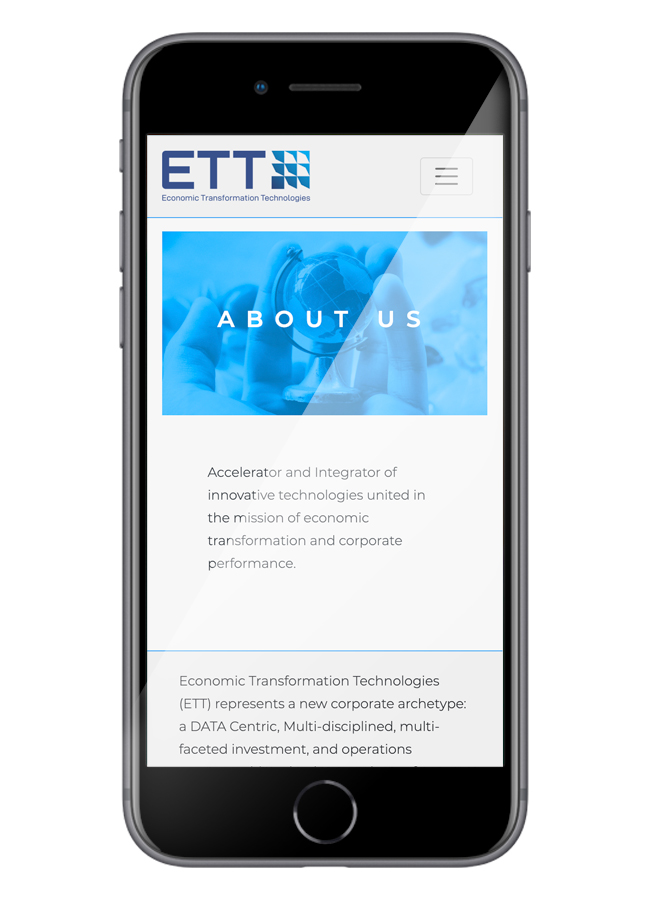 ETT Mobile about
