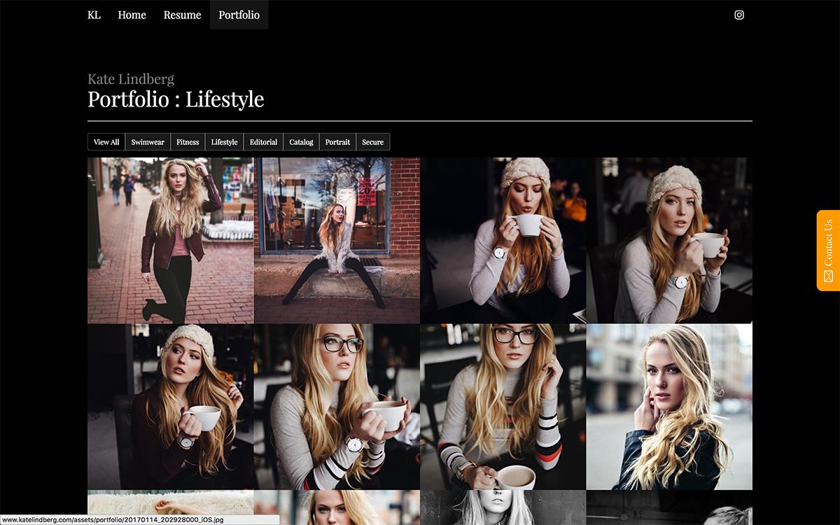 Portfolio Gallery Category Page