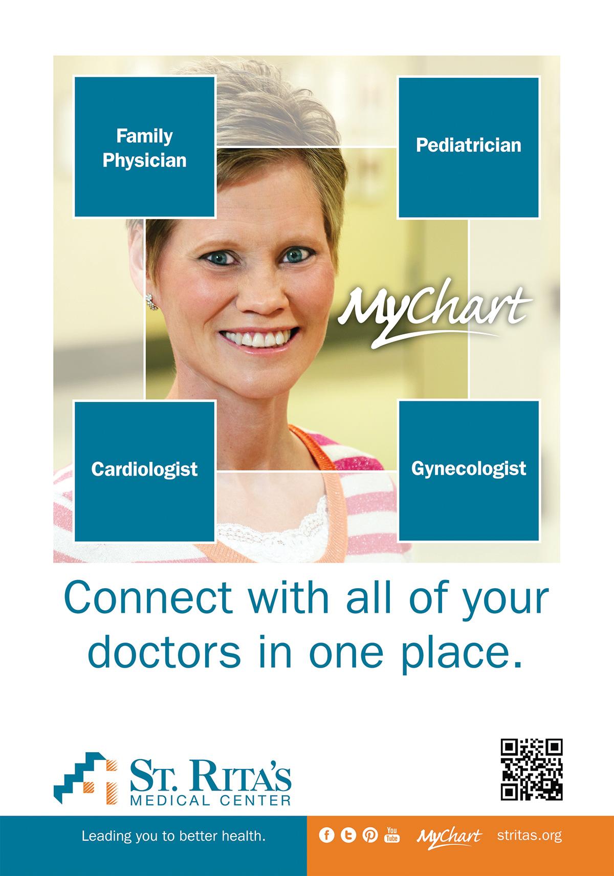 MyChart Bus Shelter Signage